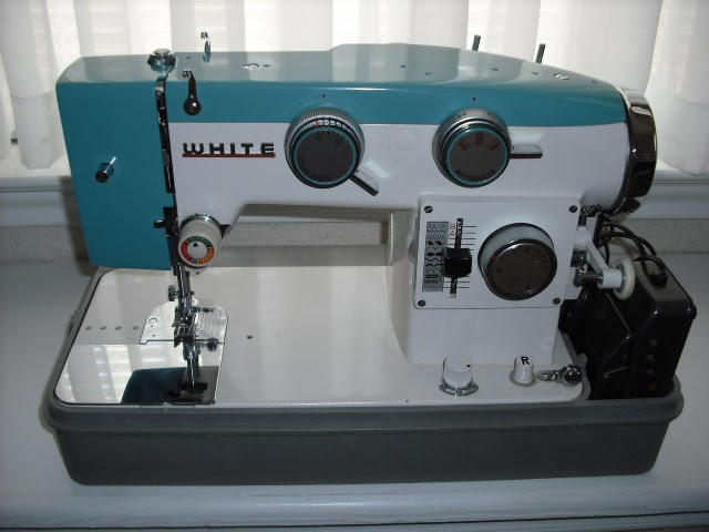 Sew There Tammy June 40 Extraordinary White Sewing Machine For Sale