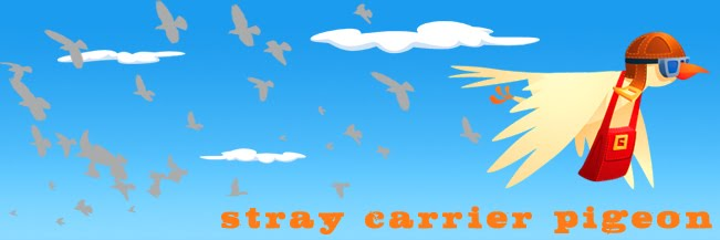 Stray Carrier Pigeon