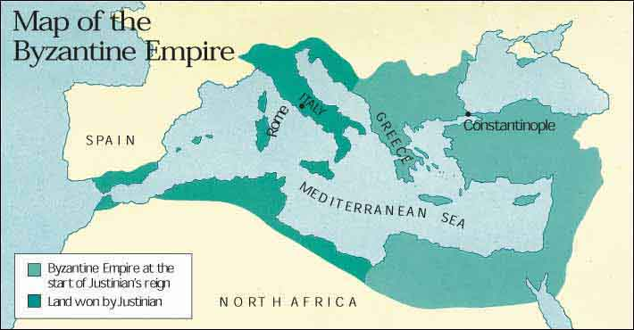 The Curious Story Of Our World Sotw2 Chapter 4 The Byzantine Empire