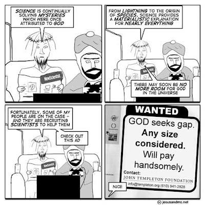 God seeks gap