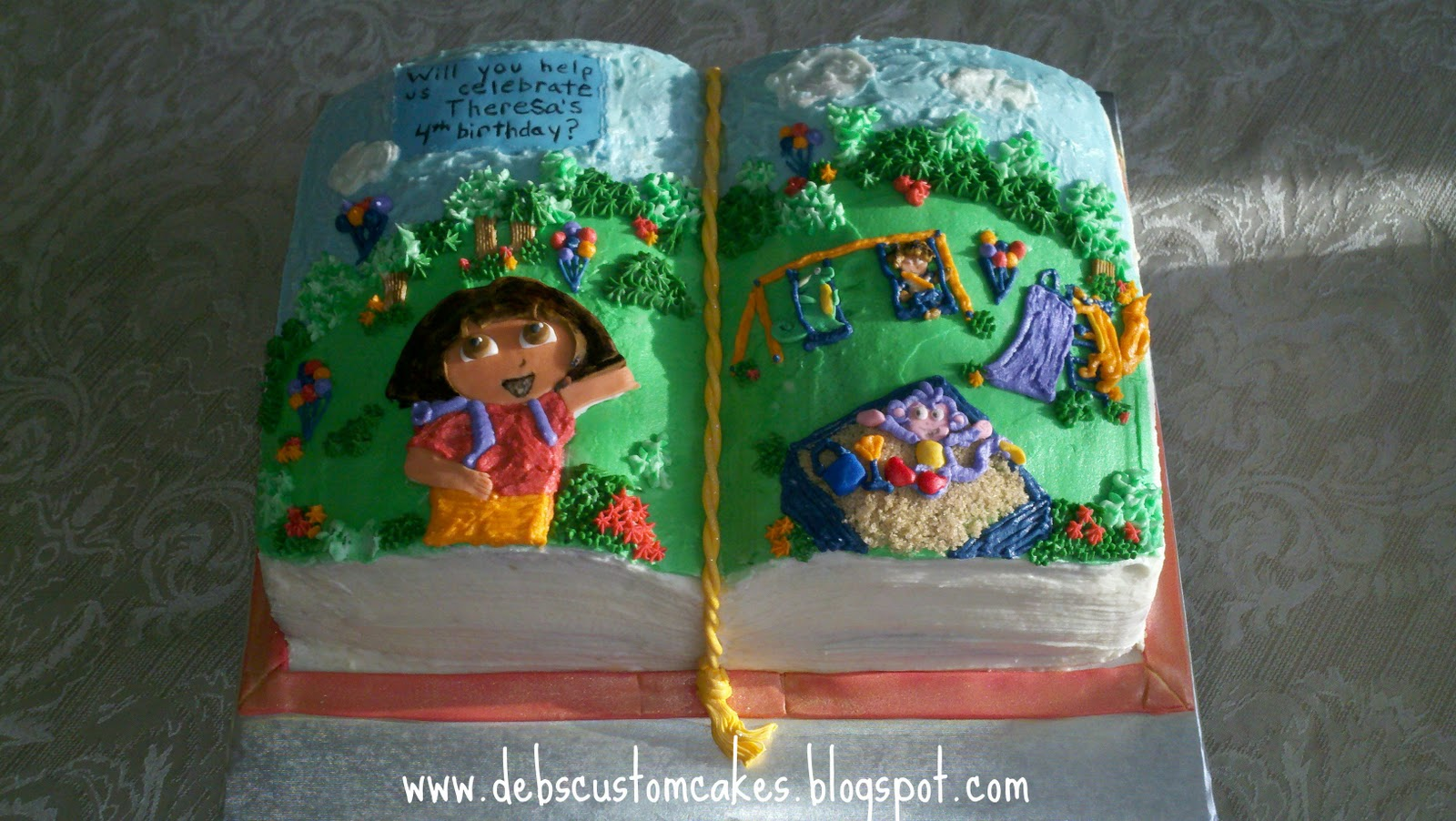 Dora Birthday Cakes Book