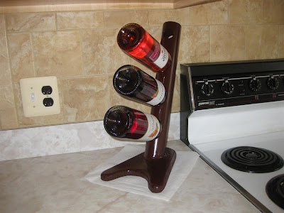 homemade wine rack, diy, make, bottle holder