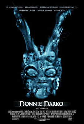 donnie darko, movie poster, amazing movie, rabbit, frank, scary