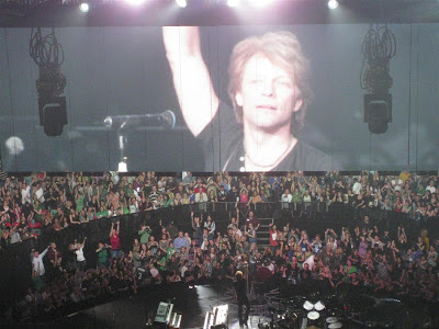 jon bon jovi, in concert, live on stage