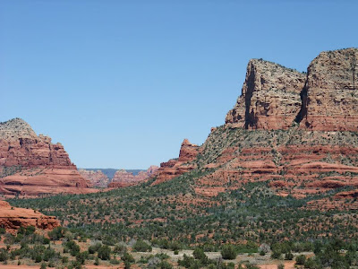 sedona arizona, red rocks, sights, vacation, landscape, view