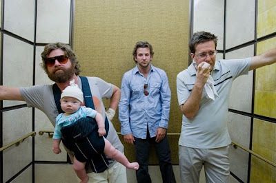 the hangover, baby, in elevator, las vegas, casinohangover