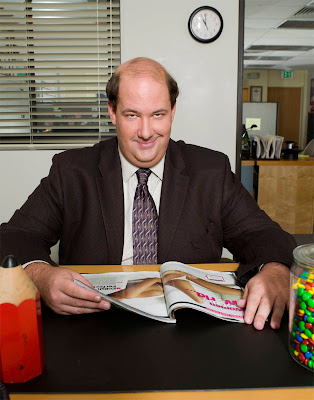 kevin, the office, retarded, retard, smiling, fat, bald