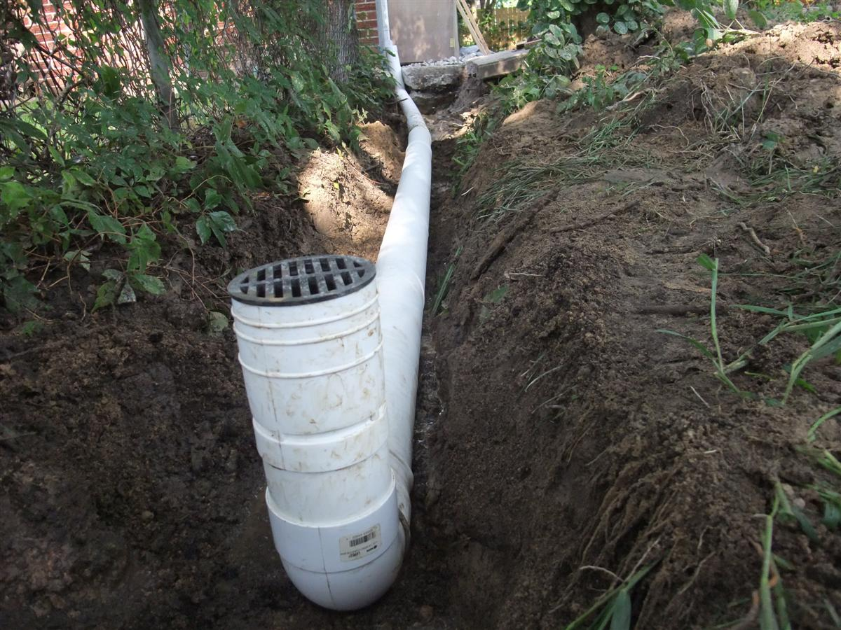 Drain pipe 2 for Downspout drain
