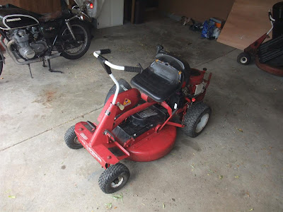 snapper riding mower, for sale, buy on craigslist, bagger, 8HP
