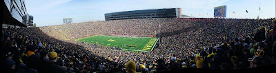 panorama, the big house, stadium, university of michigan, U of M