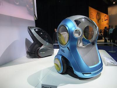 2 wheeled electric cars, prototype, interesting, auto show