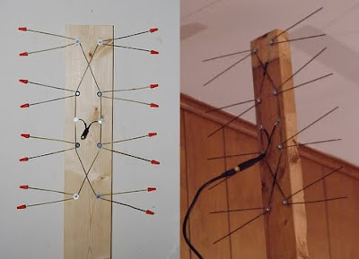 Fractal TV Antenna, make, DIY