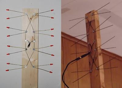 Fractal TV Antenna, make, DIY