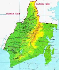Peta Prop Kalsel