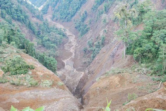Sarapiqui - dupa cutremur