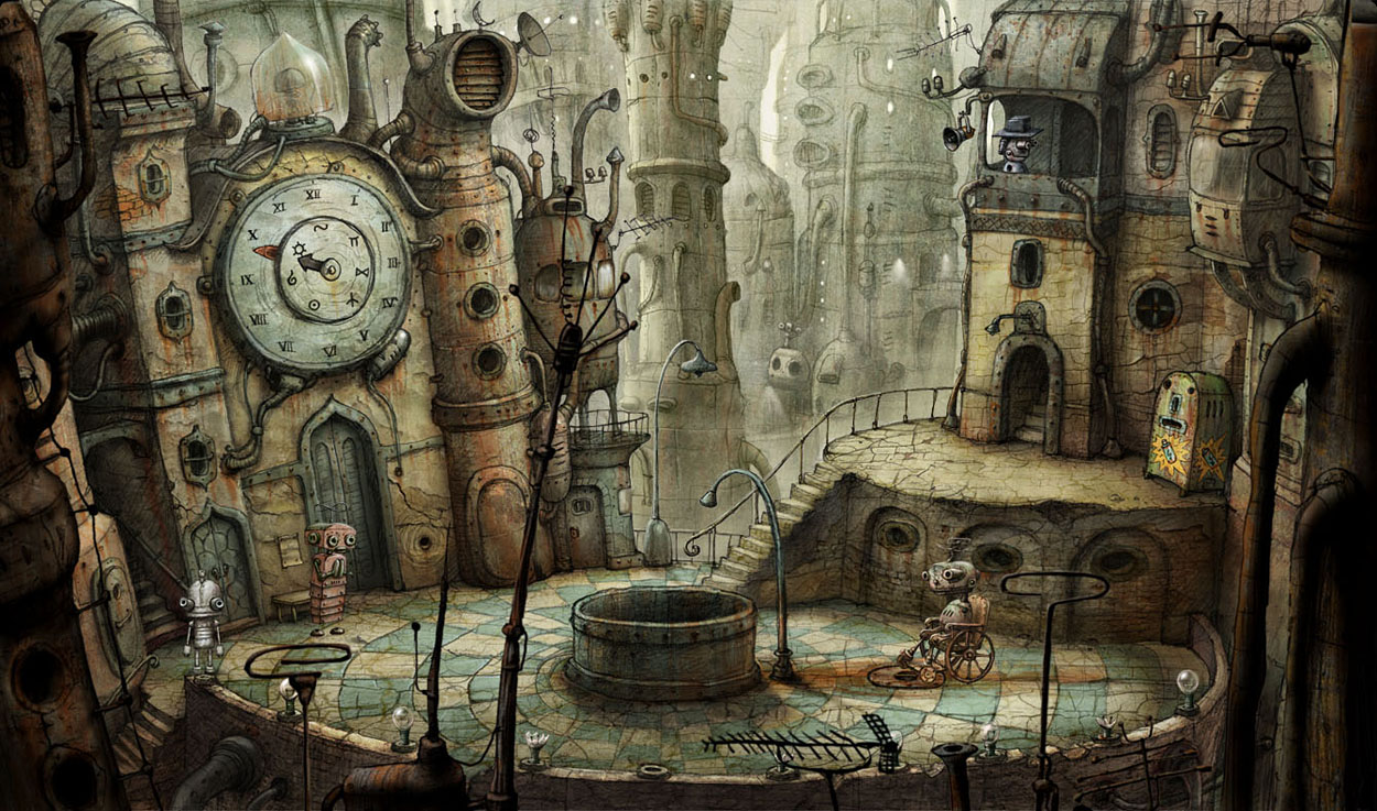 Download Machinarium .Apk Game Android HD wallpaper