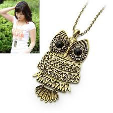 F21 INSPIRED OWL NECKLACE . ( / 12:01 AM)
