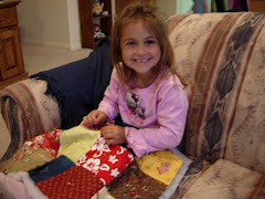 Kelsey loves to sew and quilt.