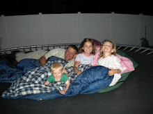 June 2010, on the trampoline