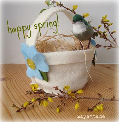 simple spring basket: how to
