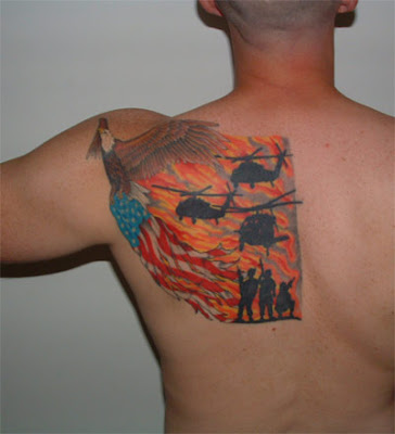 (RG) If any serving or ex British Forces have tattoos that they would like