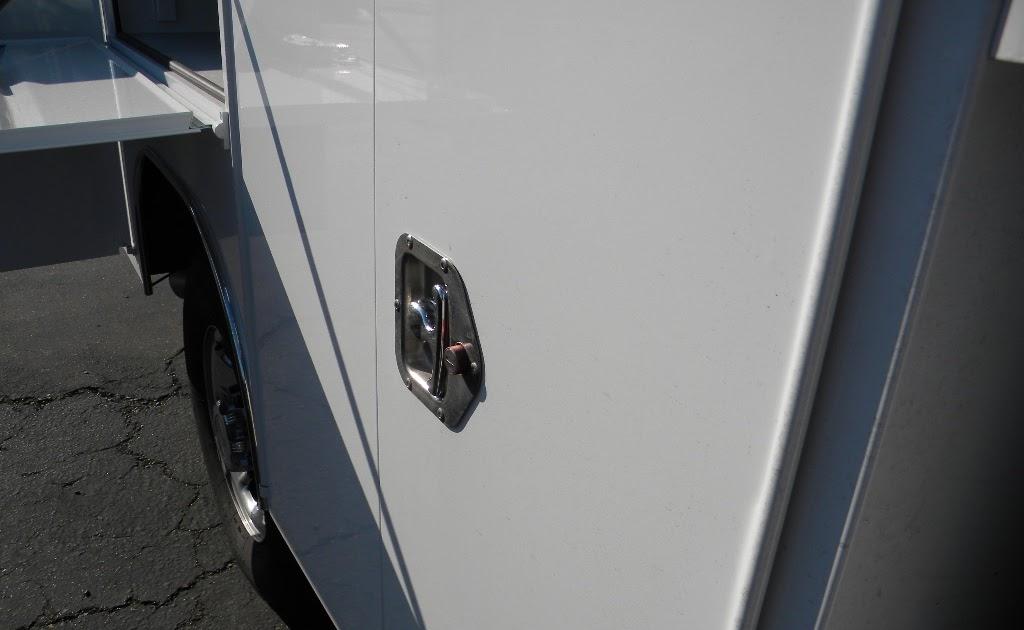 Service Body Locks : Commercial truck success harbor bodies service