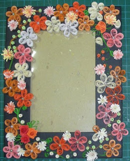 Frame+Quilling2 Kağıt Yuvarlama Sanatı, Quilling, Oya Örnekleri, Kağır İle Yapılan Güzel Oyalar, Farklı Güzel Kağıt Oyalar