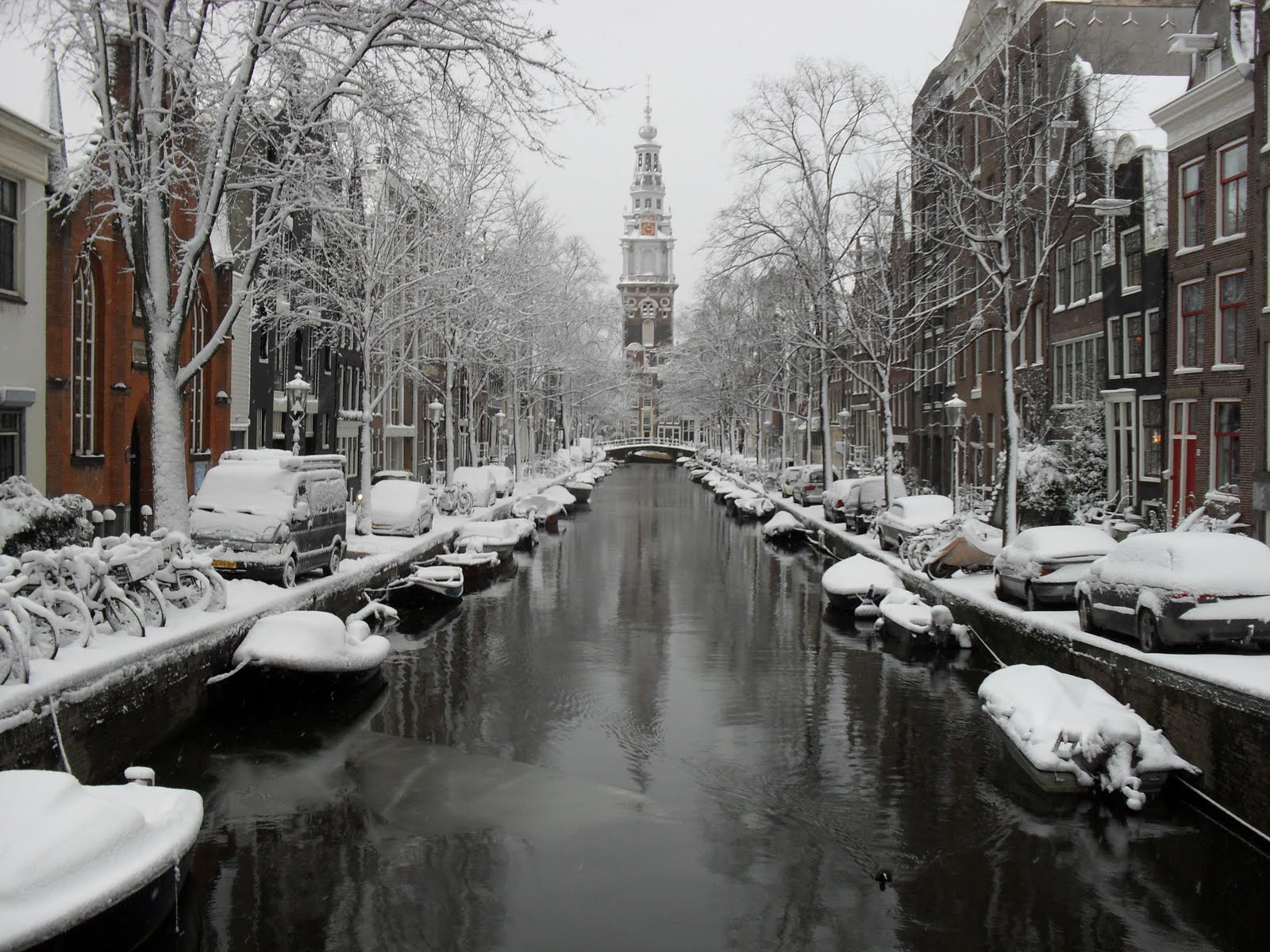 "The Purl District Blog: Amsterdam Zuiderkerk-5"" of snow!"