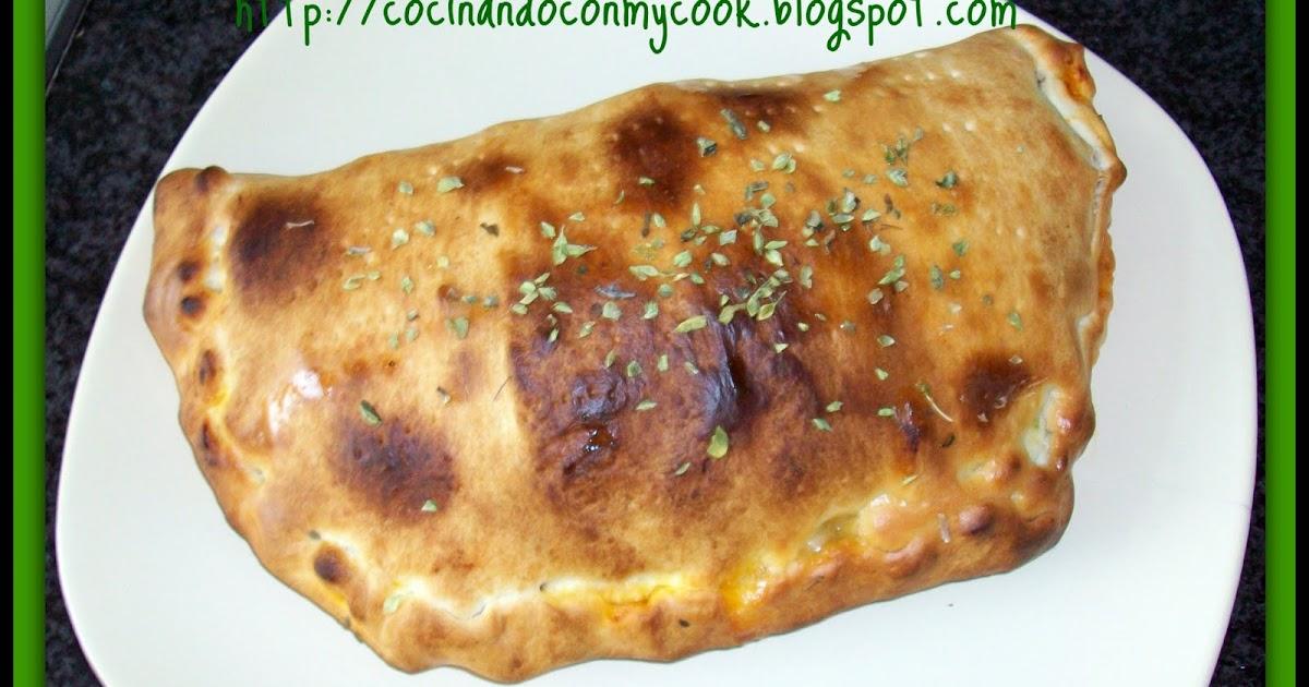 Mis recetas mycook taurus calzone muy bueno - Pizza mycook ...