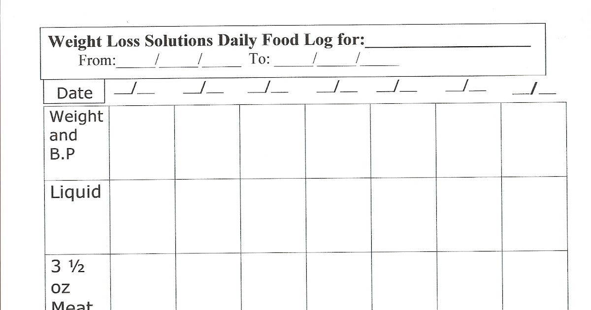 daily glucose log