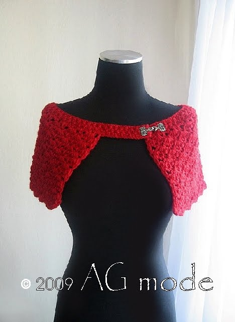 Loving Tunisian crochet lace