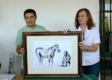 Obras en el Museo Guiraldes