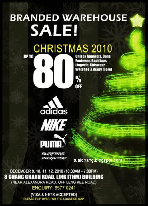 Tua lobang branded warehouse sale adidas nike puma at for Koi warehouse sale