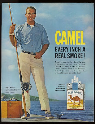 1963 Gary Gould Fisherman - Camel Cigarette Ads