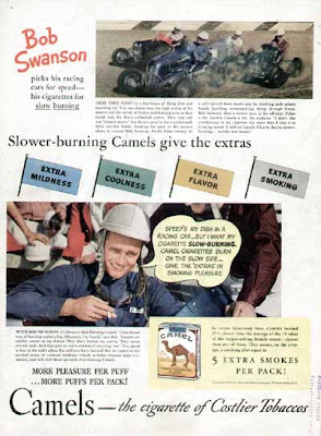 1940 Camel Cigarettes Ads