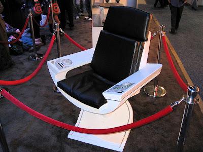 Star Trek Prop Costume Auction Authority Abrams Star Trek XI – Star Trek Captain Chair