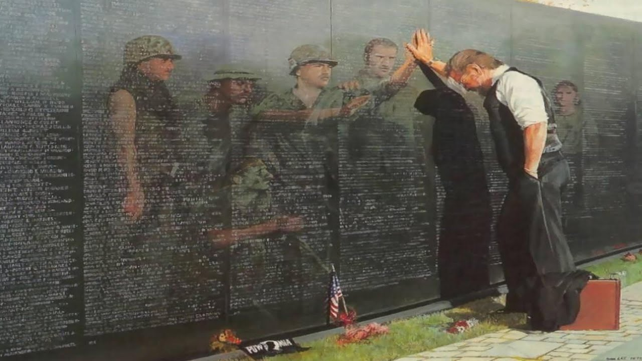Vietnam Wall : twenty years after my tour i visited the vietnam veterans
