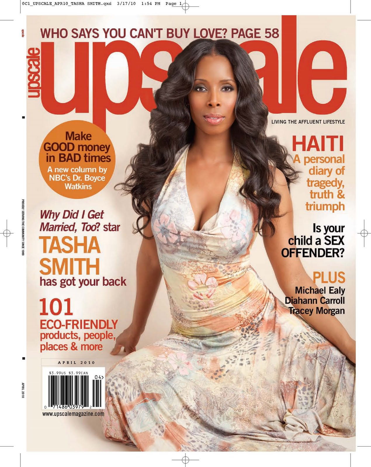 UPSCALE magazine is seeking a single female between the ages of 30 and 40 to ...