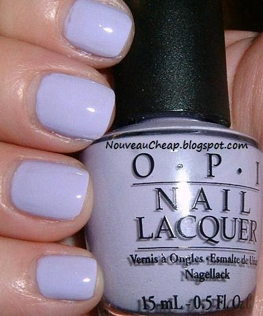 A Lavender Lilac Comparison Opi Rumple 39 S Wiggin 39 And Two