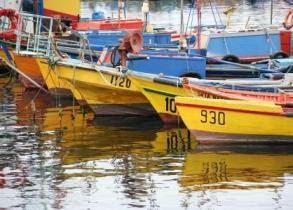 Caldera harbour