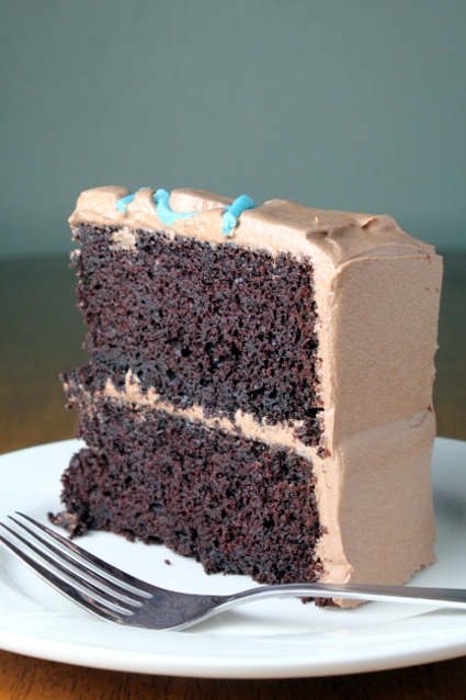 Kitchen Trial and Error: one bowl chocolate cake