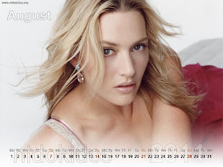 New Year 2011 Calendar, Titanic Actress Kate Winslet Desktop Wallpapers