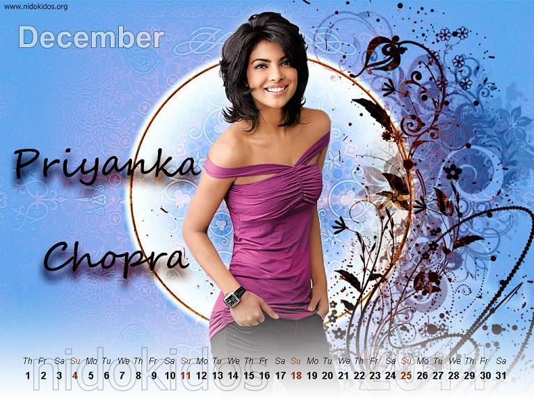 لعشاااااق بريانكا تشوبرا  Priyanka-chopra-wallpapers-desktop-calendar-2011-12