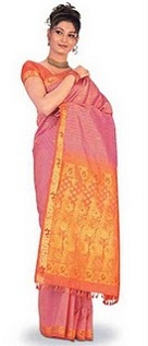 Hot Girls in Sarees Photos, Models in Latest Silk Saree Designs