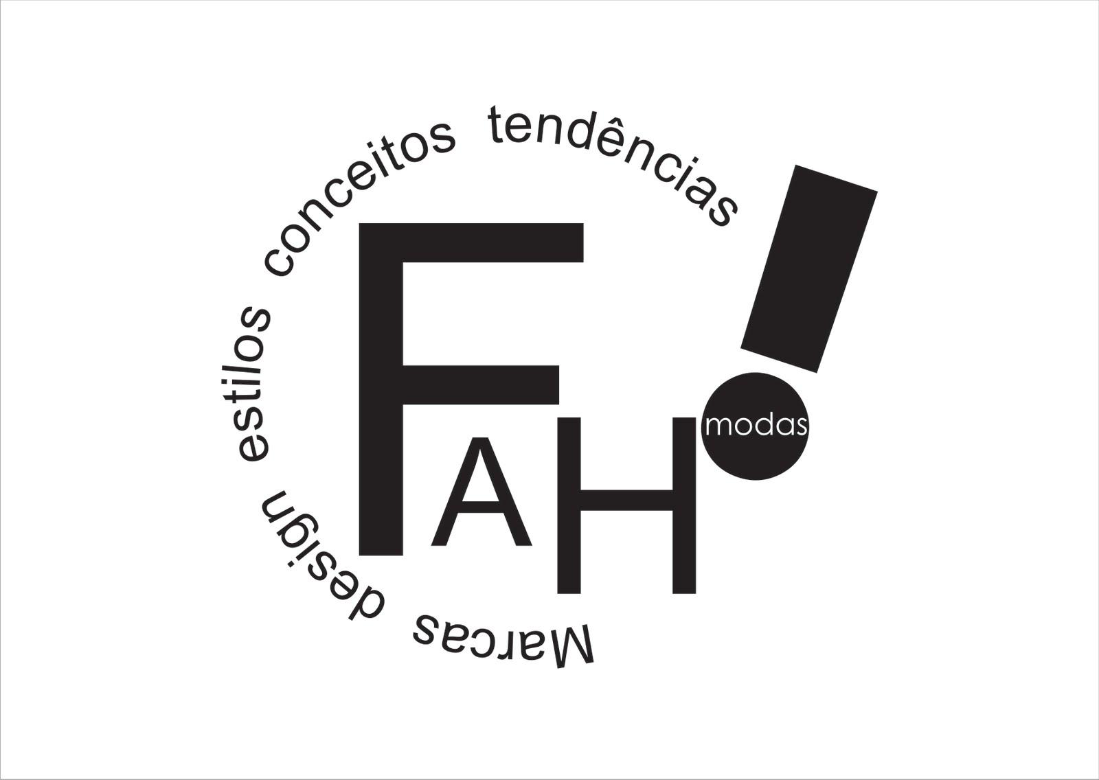 cria231227o e desenvolvimento de logotipo para fah modas