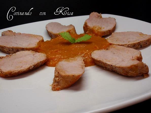 Cocinando con kisa solomillos de cerdo en salsa de mango for Cocinar con mango