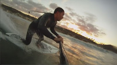 Paddle Surf Hawaii Hull Ripper by Blane Chambers, La Jolla, San Diego, CA, GoPro HD Camera
