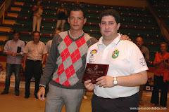 ENTREGA DISTINCIÓN  F.E.B. 2009