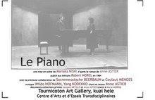 """exposition de anne Astier """"le piano"""" mise en musique par philippe Codecco"""
