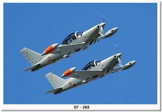 Avión de entrenamiento Aermacci SF-260